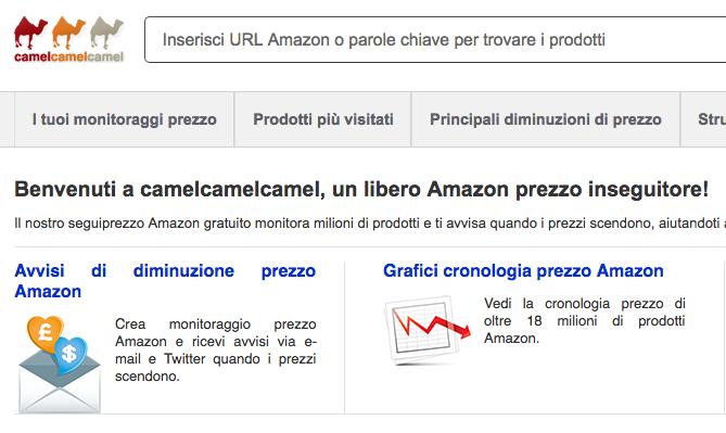 Statistiche Prezzi Amazon